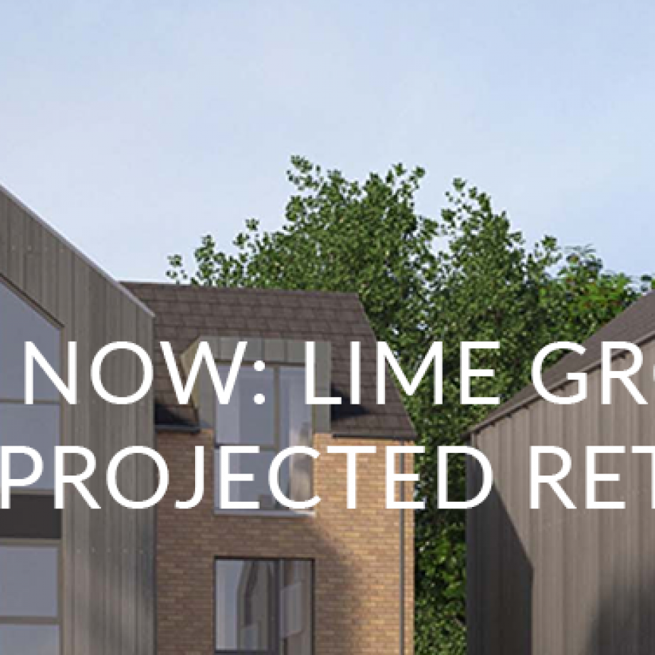 Live Now: Lime Grove   30% Projected Return